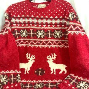 Woolrich womens wool sweater XL